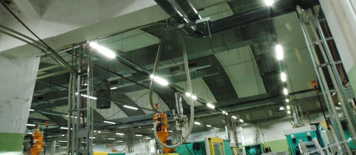 Oświetlenie Przemysłowe Led Hal I Magazynów Globus Lighting