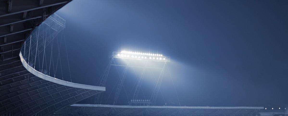 oświetlenie hal i obiektów sportowych