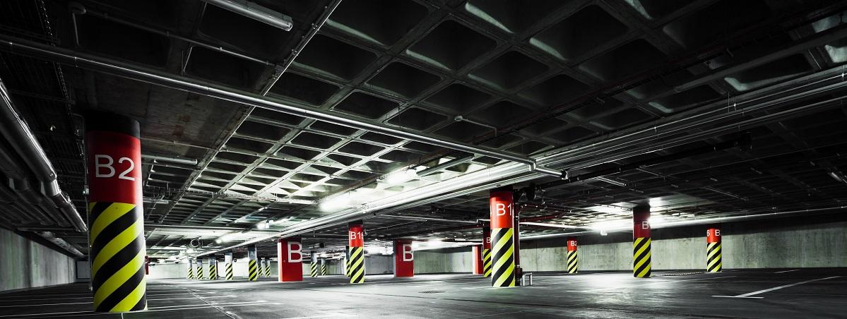 Oświetlenie parkingowe LED